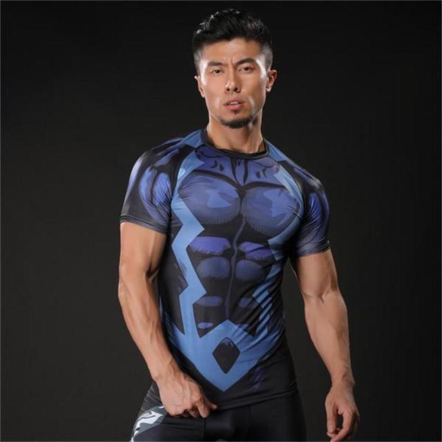 2017 Marvel Super Heroes Avenger Captain America T-shirt