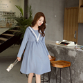 Korean Fashion Maternity Dresses Clothing Maxi Pregnancy Wear Casual Dress Clothes Pregnant Women Party Dress Premama Clothes