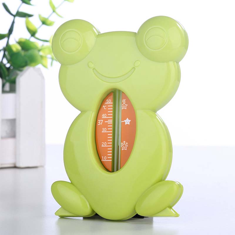 Floating Lovely Turtle Shape Water And Dry ABS Float Baby Bath Toy Thermometer Tub Watering Sensor Thermometers