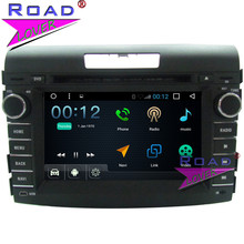Topnavi Android 6.0 1g + 16 GB Quad Core auto video coches reproductor de DVD para Honda CRV 2012 ESTÉREO navegación GPS unidad principal WiFi dos din