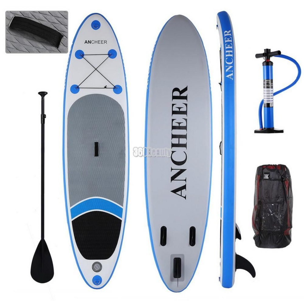 Planche de surf gonflable tout usage anremonter SUP 10ft avec planche de surf iSUP avec sac à dos réglable
