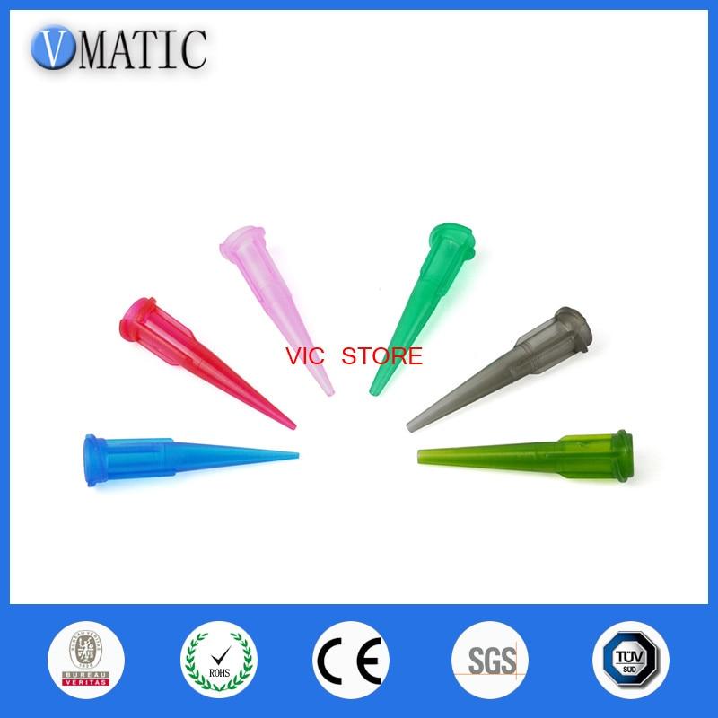 1000pcs 14g 27g TT Plastic Glue dripping needle Glue dispenser tips glue dispensing needle manufacturing china