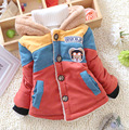 2016 cartoon bear children coat winter jacket for girls boys casual jacket children outerwear with bag chilren clothing