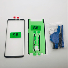 Replacement External Glass For Samsung Galaxy S8 G950 G950F SM G950F LCD Display Touch Screen Front Glass External Lens S8