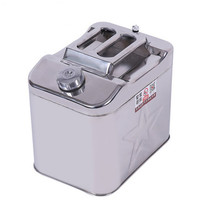 20 litres canister jerry cans with rotational sealing cap stainless steel jerrycan universal edible oil canister bucket