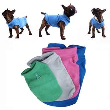 Winter Fleece Pet Clothes for Dogs Puppy Clothing French Bulldog Coat Pug Costumes Jacket For Small Dogs Chihuahua Hondenkleding(China)