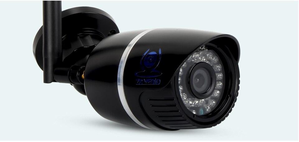 ZSVEDIO Surveillance Cameras IP Camera OnVif IP Cameras Wi Fi IP66 Outside Wireless 1080P HD 2MP Black 2.8mm Camera CCTV (15)