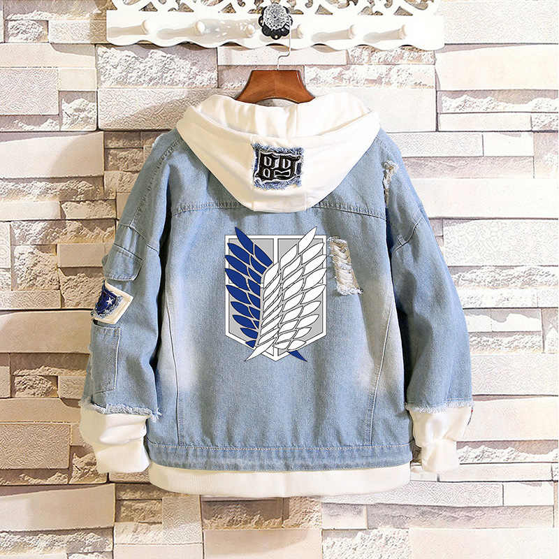 Attack on Titan Wings of Freedom Fake 2 Pieces Casual Jacket