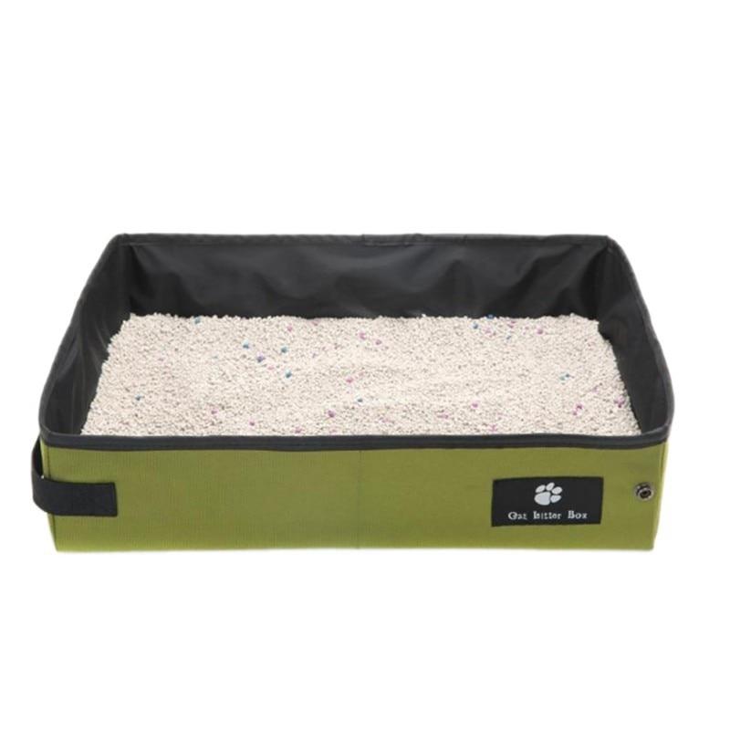 Aliexpress Com Buy Pet Cat Litter Box Folding Pet Litter