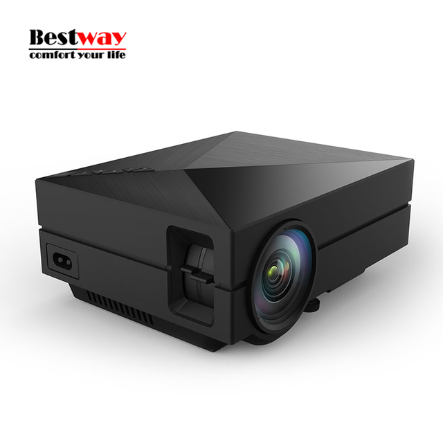 2016 Newest Upgrade GM60 Mini LED Home Theater Projector HD Video Projector Beamer 1080p 1920x1080 Support USB SD VGA HDMI AV