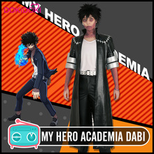 DokiDoki  Anime Cosplay Boku No Hero Academia / My Dabi Costume Men Halloween