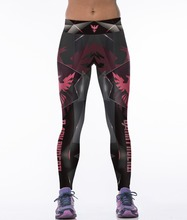 NEW 88003 Girl Women Comics Batman Superman Dark phoenix 3D Prints High Waist Running Fitness Sport Leggings Yoga Pants