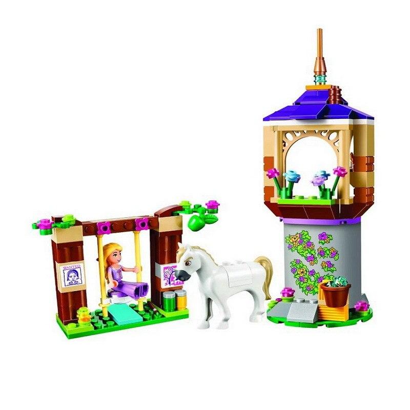 10564 BELA Friends Rapunzel's Best Day Ever Model Building Blocks Classic Enlighten Figure Toys For Children Compatible Legoe decool 3117 city creator 3 in 1 vacation getaways model building blocks enlighten diy figure toys for children compatible legoe