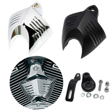 84f00165 2 Colors Custom V-Shield Twin Horn Cover Cowbell Kit For Harley Davidson  Softail Dyna