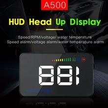 sbhei Auto HUD 3.5 Screen Auto OBDII Car hud OBD2 Port Head-Up Display KM/h MPH Overspeed Warning Windshield Projector Alarm