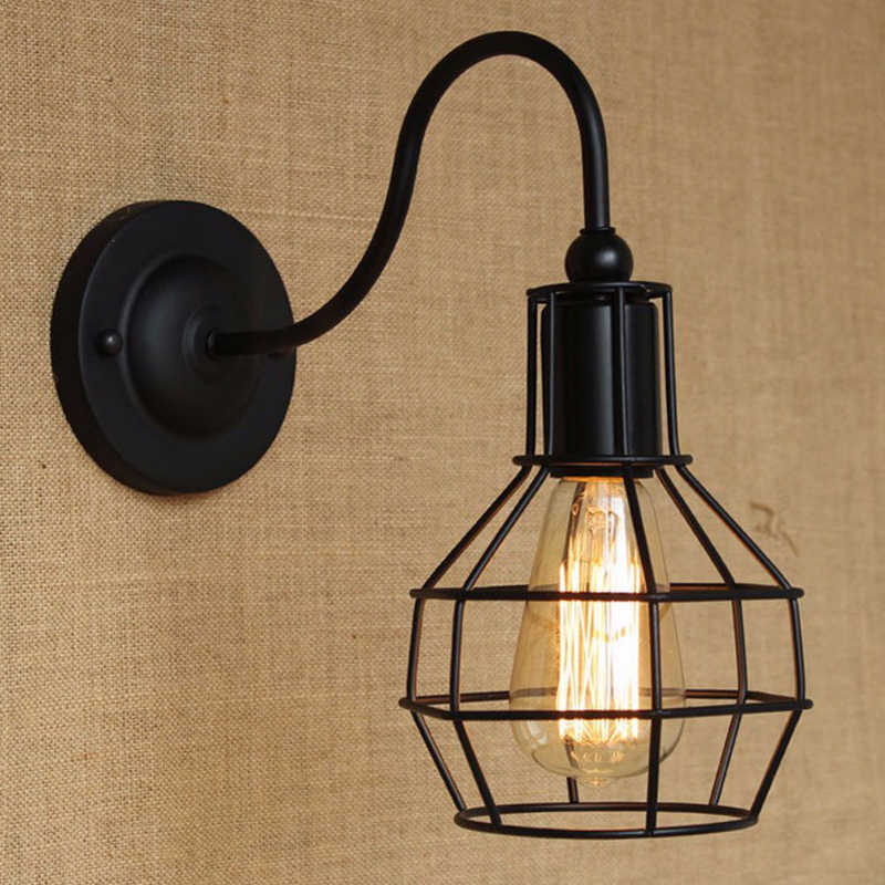 Wall Light E27Wall Lamps Vintage  LED Light Fixture For Home Industrial Decor Holiday Decorations Living Room Bedroom Lighting