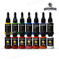 Dragonhawk TATTOO INK 14-PACK Primary Color Set 0.5oz Bottles