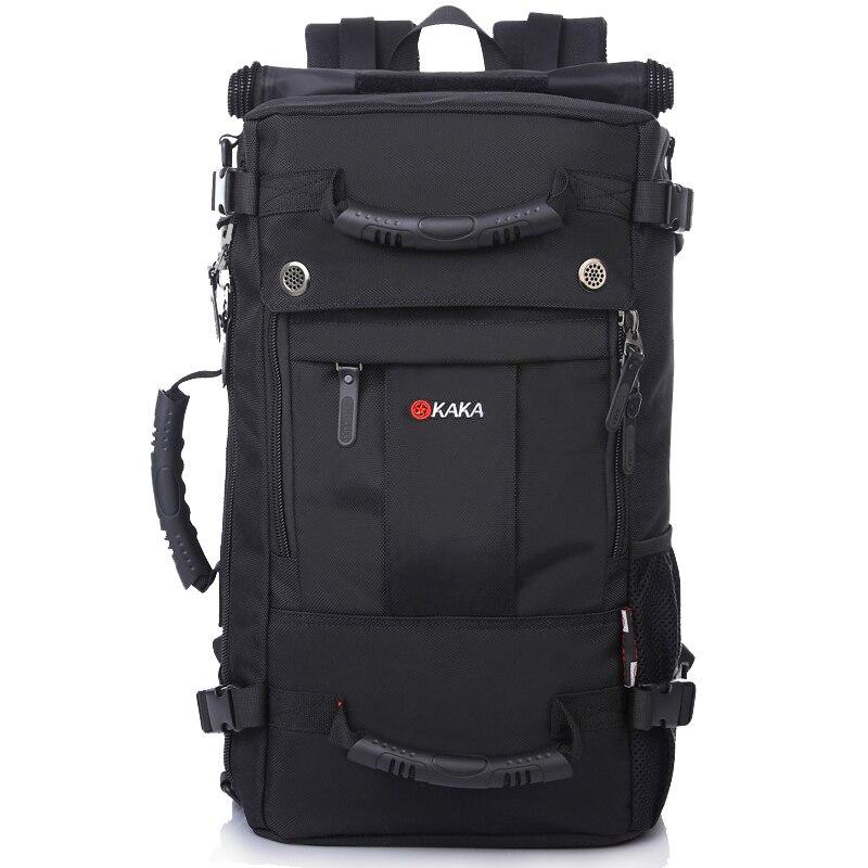 ФОТО Brand Stylish Waterproof Large Capacity Backpack Male Messenger Travel Shoulder Bag Computer Backpack Men Multifunctional Bags
