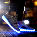 Led Shoes Men Unisex Light Up Shoes Casual Led Luminous Shoes For Adults glowing shoes hot selling