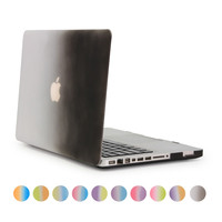 For Macbook Pro 15 Gradient Case White And Black Cover For Apple Laptop 15 4 Inch