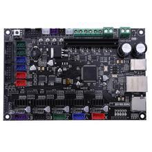 32bit Arm платформы гладкой плата управления МКС SBASE V1.3 с открытым исходным кодом MCU-LPC1768 Поддержка Ethernet предварительно радиатора 3D принтера
