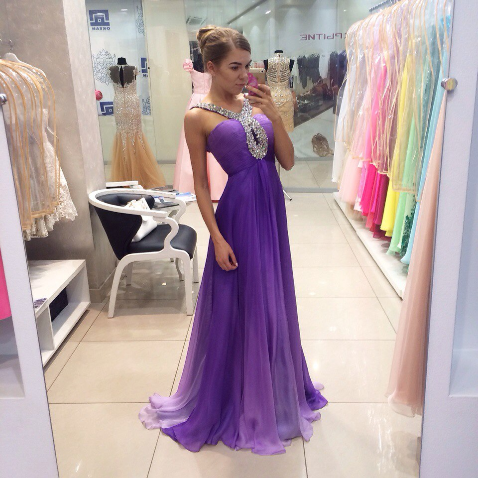 Popular Beautiful Purple Prom Dresses-Buy Cheap Beautiful Purple ...