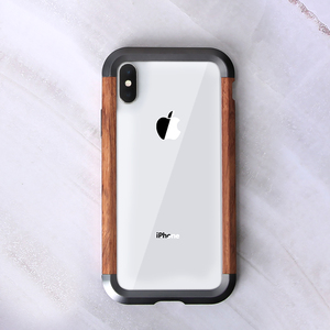 Image 3 - Ốp Lưng Điện Thoại Iphone 11 11 Pro 11 Pro Max Cao Cấp Kim Loại Cứng Nhôm Gỗ Ốp Lưng Bảo Vệ Ốp Lưng Điện Thoại iPhone XS X
