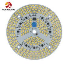 Светодиодный модуль pcb с регулируемой яркостью 25 Вт, 30 Вт, 40 Вт, 60 Вт, светодиодная лампа 100 Вт, светодиодный светильник с высоким потолком, интегрированный драйвер 5730 в сборе, светодиодный потолочный светильник