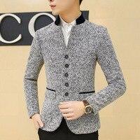 Men Casual Suit Blazer Large Size Designer Slim Fit Business Dress Suit Jacket Male Fashion Vintage