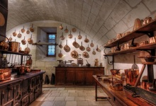Laeacco Old Kitchen Interior Scene Photography Backgrounds Customized Photographic Backdrops For Photo Studio