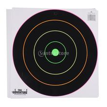 20Pcs Archery Paper Targets Self adhesive Stickers 30cm