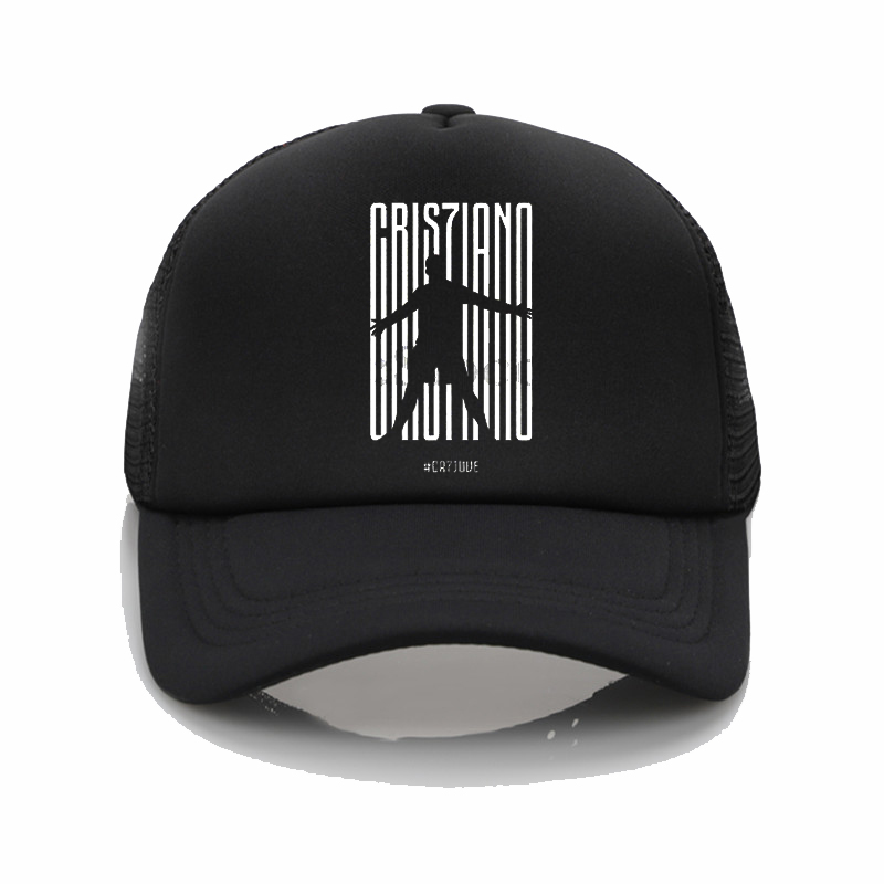Fashion hat cr7 ronaldo Printing   baseball     cap   Men women Summer   Cap   Youth Joker sun hat cr7 ronaldo hip hop hat Beach Visor hat