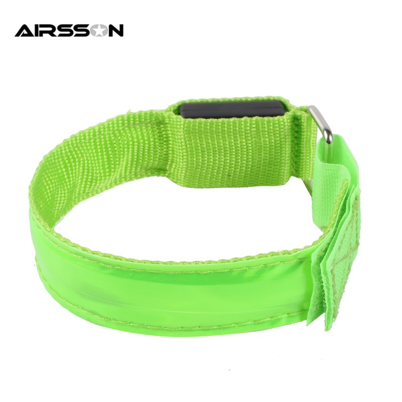 HTB18AnrOFXXXXXcaFXXq6xXFXXX0 Outdoor Sports Night Running Armband Led Light Safety Belt Arm Leg Warning Wristband Cycling Bike Bicycle Party luces bicicleta