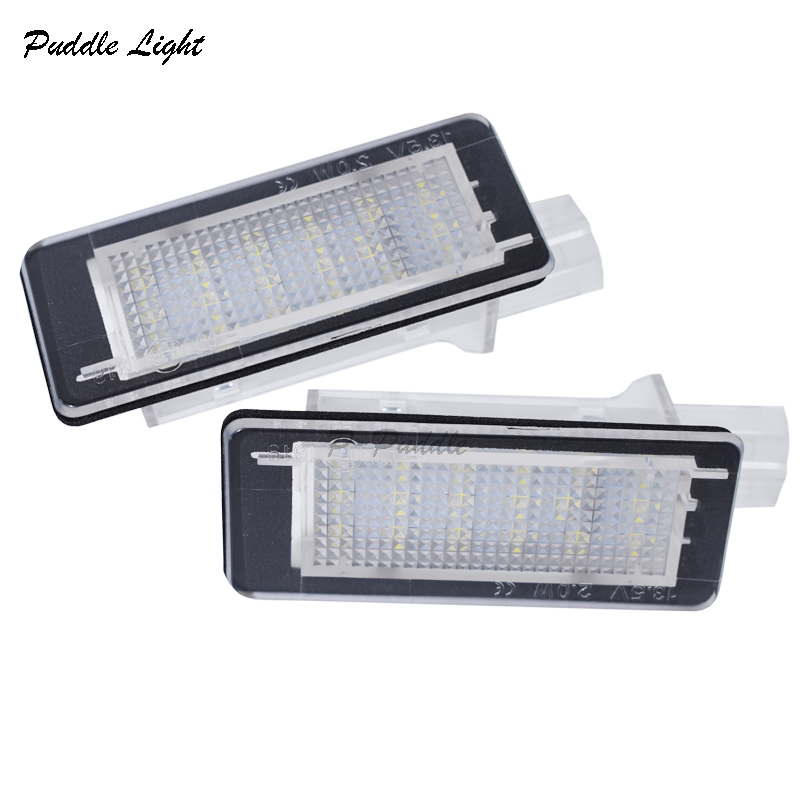 2x Error Free For RENAULT Modus Grand Modus Scenic II 5D Scenic III 5D ZOE Car LED Number License Plate Light Kit Car-Styling
