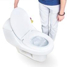 BP 1 пакета(ов) 10 шт./партия путешествия одноразовые крышку унитаза 100% Водонепроницаемый туалетной бумаги pad набор аксессуаров для ванной комнаты JJ-ZBD142/