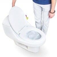 BP 1 Bag 10 pcs/lot Travel disposable toilet seat cover 100% waterproof toilet paper pad bathroom accessories set JJ ZBD142/