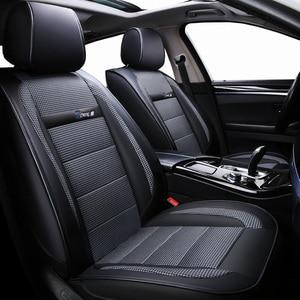 Image 3 - חדש יוקרה עור אוניברסלי רכב מושב כיסוי עבור טויוטה כל מודלים טויוטה rav4 טויוטה קורולה chr לנד קרוזר פראדו premio קאמרי