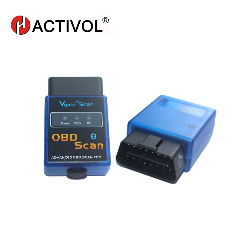HANG XIAN ELM 327 Bluetooth Android OBD2 Scanner Automotive OBD 2 Diagnostic Scan Tool for for car DVD player ELM327 OBDII