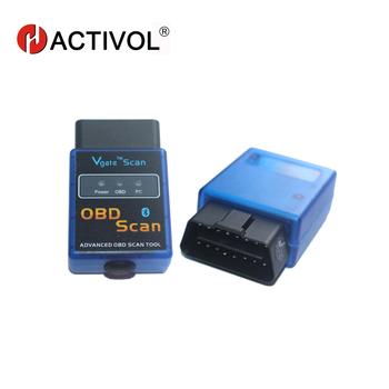 Powiesić XIAN (zawierają również te wymagające dopłaty) ELM 327 Bluetooth Android OBD2 skaner motoryzacyjny OBD 2 skaner dla dla samochodów ODTWARZACZ DVD ELM327 OBDII tanie i dobre opinie HACTIVOL ELM 327 V 1 5 Diagnostic-Tool