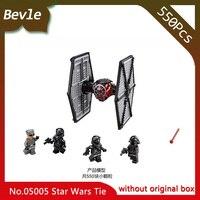LEPIN 05005 550Pcs Star Wars First Order Special ForcesTIE Fighter Star Wars Building Block Bricks Toys