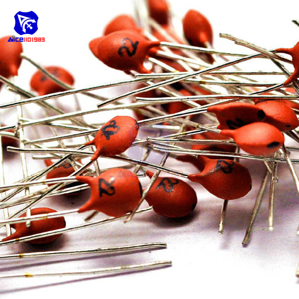 100PCS/Lot DIP Low Voltage Ceramic Disc Capacitors 22pF 50V image