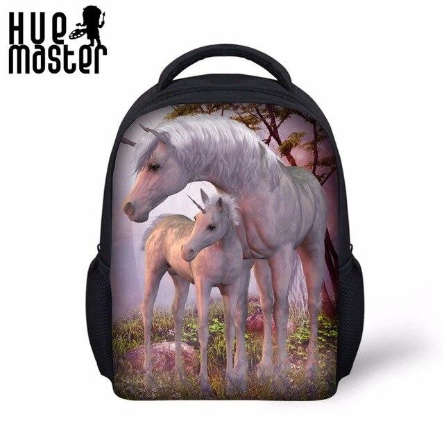 83f10f9fe39d Unicorn Bag Animal Print Mini Backpack School Bags For Child Boys Girls Age  1-6 Kids Small Daypack Mochila Unicorni