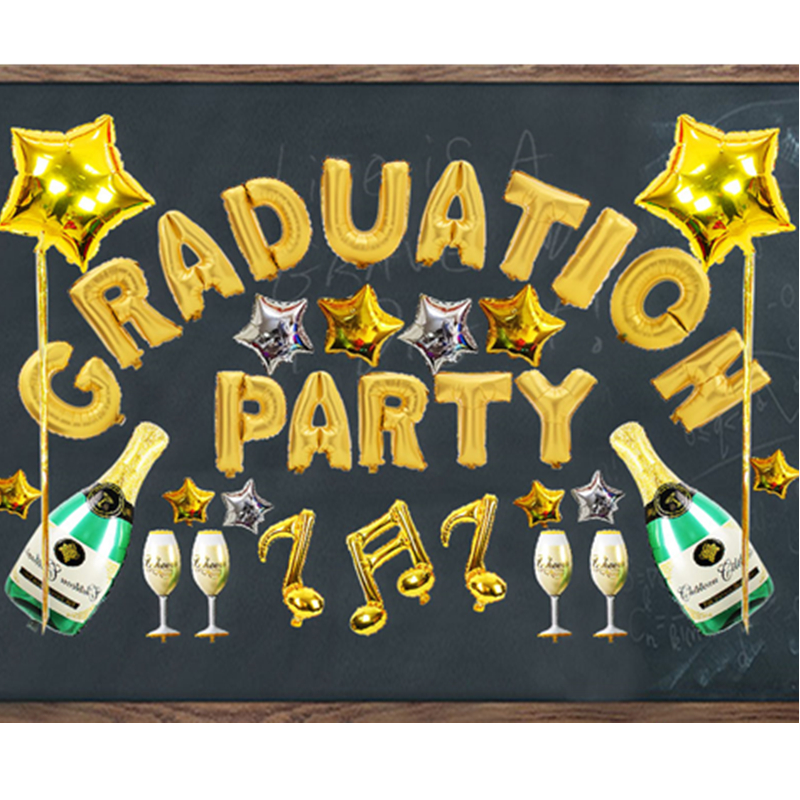 Foil Balloon Kit Happy Graduate Party Supply 2019 ...
