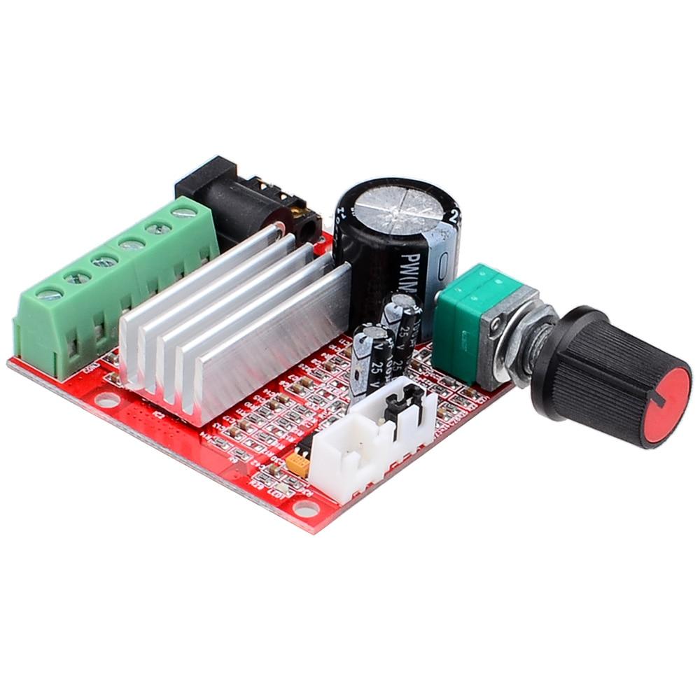 Wholesale 10pcs lot Brand new Mini HI FI High power 2 1 DC10 18V Digital Amplifier