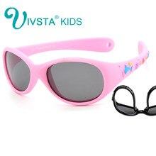c1ea78297c IVSTA 851 Flexible TR90 poco del bebé niños 1 2 3 años tamaño pequeño  lentes polarizadas espejo sol niños niño