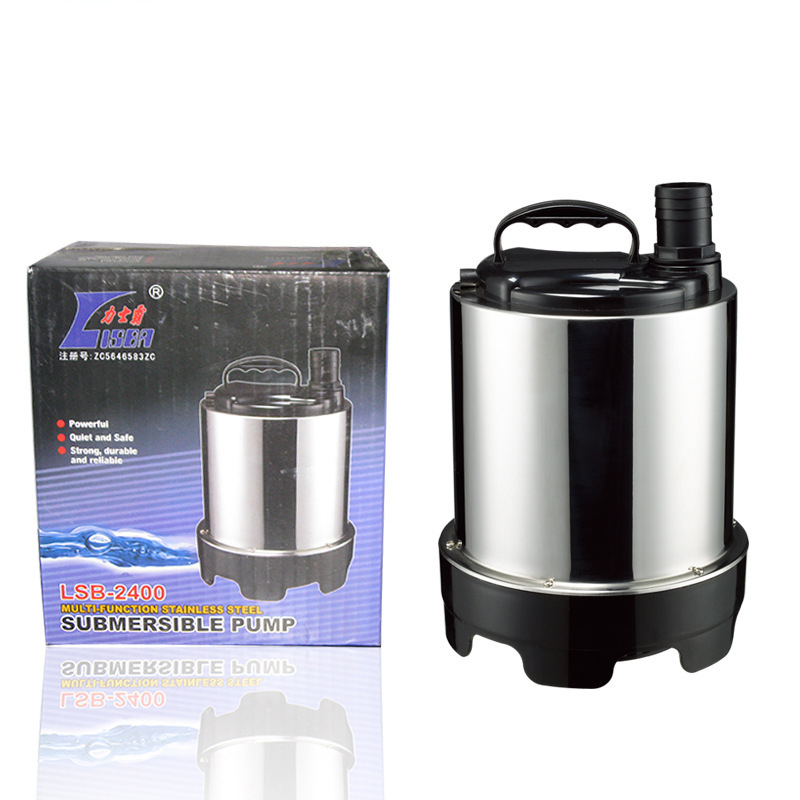 220V Multi-function stainless steel submersible pump 2400L/H Lift 2.6M Y220V Multi-function stainless steel submersible pump 2400L/H Lift 2.6M Y