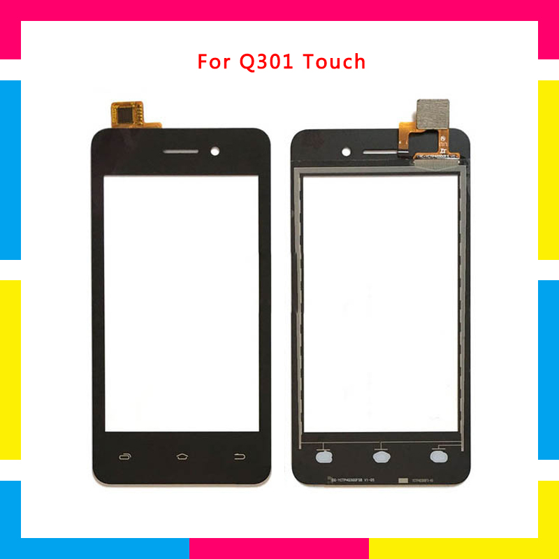 "High Quality 4.0"" For Micromax Bolt Q301 D320 D303 Touch Screen Digitizer Sensor Outer Glass Lens Panel"