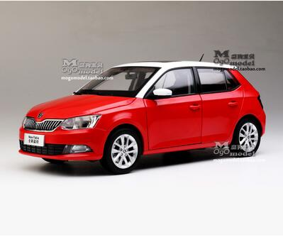 New SKODA FABIA 1:18 car model alloy metal diecast Collection Hatchback original gift boy 2015 section Work hardcover maisto jeep wrangler rubicon fire engine 1 18 scale alloy model metal diecast car toys high quality collection kids toys gift
