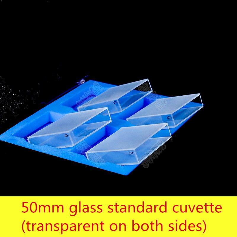 Glass  Cuvette 50mm / Light Transmissive / Acid and Alkali / Melt Integrated / High TransmittanceGlass  Cuvette 50mm / Light Transmissive / Acid and Alkali / Melt Integrated / High Transmittance