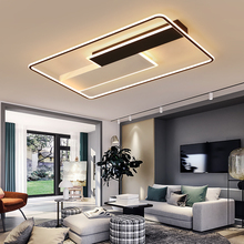 Modern led Ceiling Lamp Led Light for foyer Living room Bedroom Kitchen Black and White Creative Fashion 11